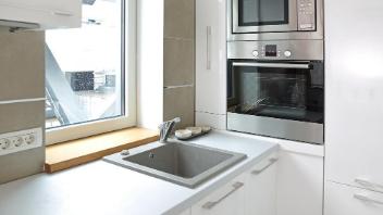 民泊のキッチン清掃