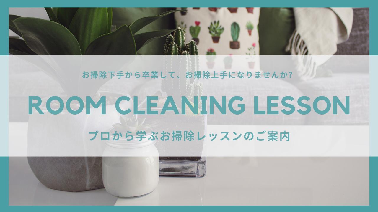 清掃レッスン,お掃除講座,家事