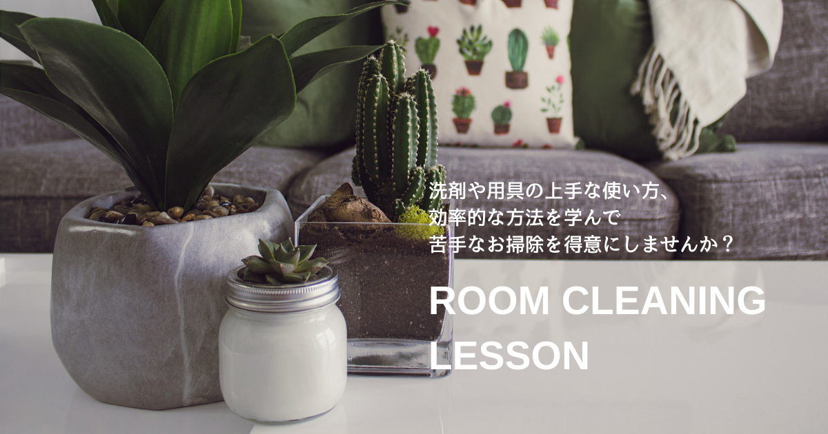 清掃,掃除,講座,レッスン